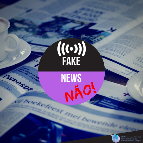 Nota de Repúdio do CRB-1 contra fake news