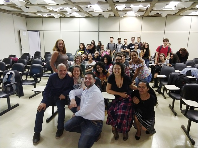 crb-1 dá aula para alunos da Universidade de Brasília