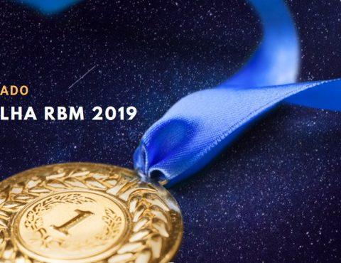 Resultado Medalha RBM – 2019