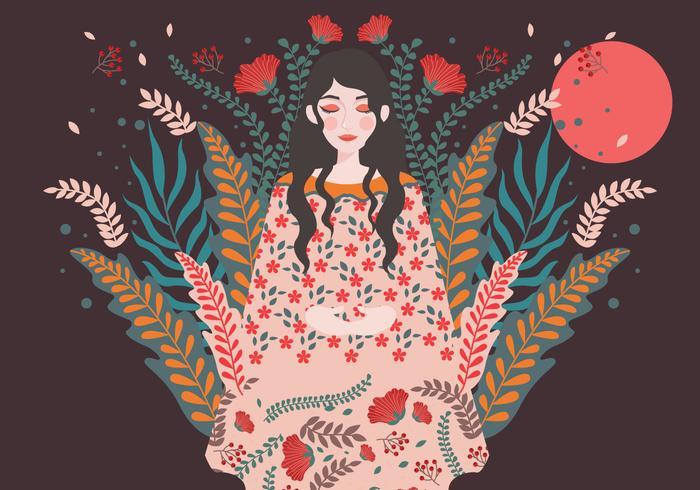 international-women-s-day-illustration-4-vector