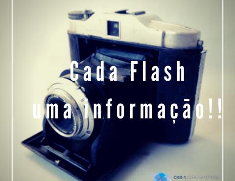 Um flash, uma informação