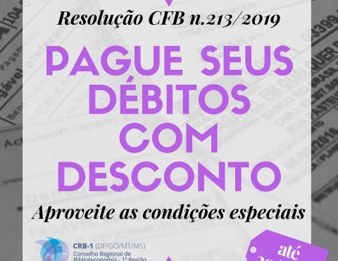 Conciliação de Anuidades 2019!!