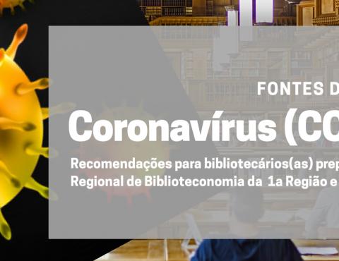 Recomendações para bibliotecários da jurisdição sobre o Coronavírus