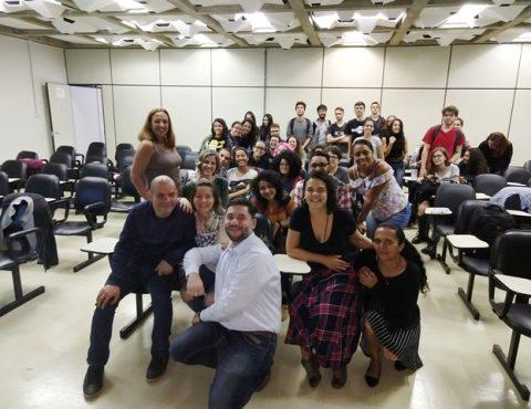 CRB-1 realiza palestra a alunos da Universidade de Brasília sobre importância da fiscalização da profissão